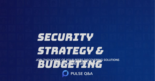 Security Strategy & Budgeting