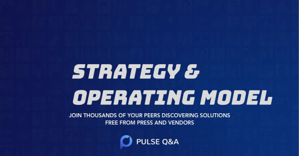 Strategy & Operating Model